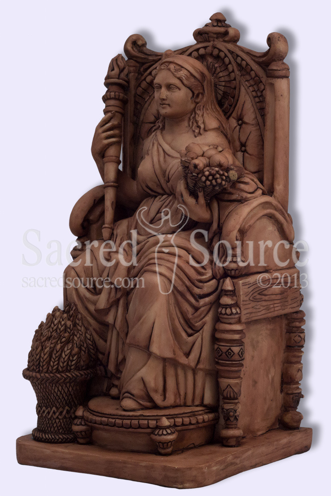 demeter greek goddess statue - photo #10