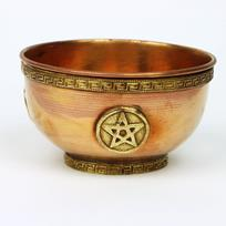 Copper Pentacle Bowl 4 inch
